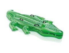 Zelené dětské nafukovací lehátko INTEX - délka 203 cm a šířka 114 cm