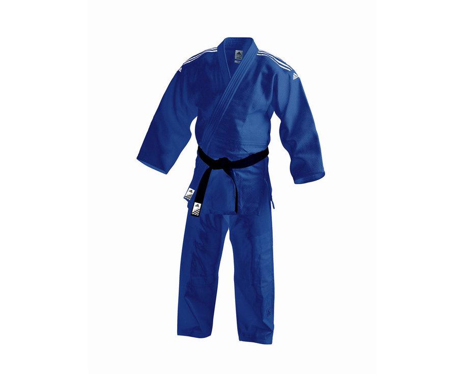 Modré kimono na judo Adidas