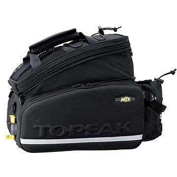 Černá brašna na kolo na zadní nosič TOPEAK - objem 12,3 l