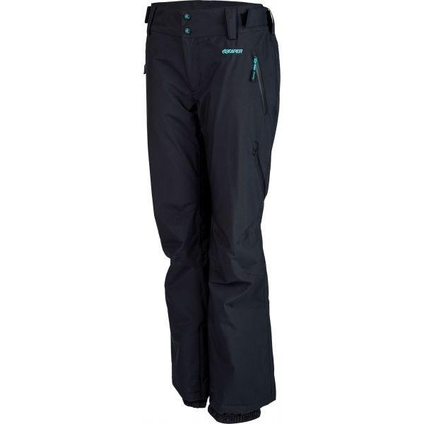 Černé dámské snowboardové kalhoty Reaper