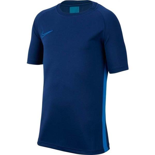 Modré chlapecké tričko s krátkým rukávem Nike - velikost S
