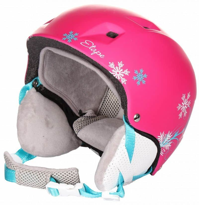 Modrá chlapecká lyžařská helma Etape