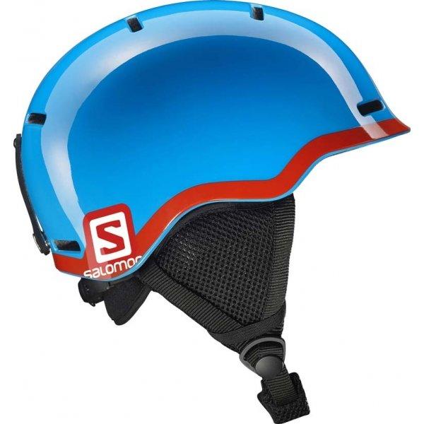 Modrá dětská lyžařská helma Salomon - velikost 53-56 cm