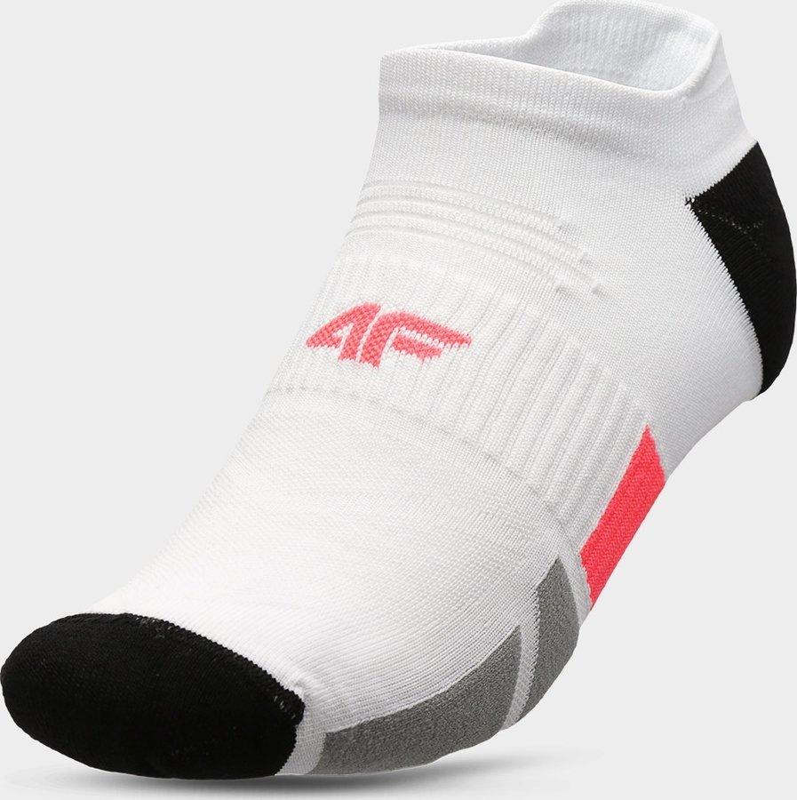 Bílé pánské ponožky 4F - velikost 39-42 EU