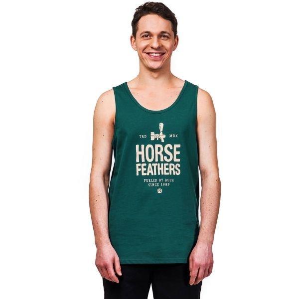 Zelené pánské tílko Horsefeathers