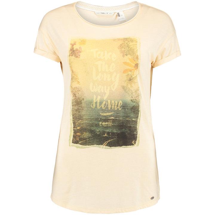 Béžové dámské tričko O'Neill - velikost XS