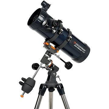 Teleskop se stativem AstroMaster 114 EQ, Celestron