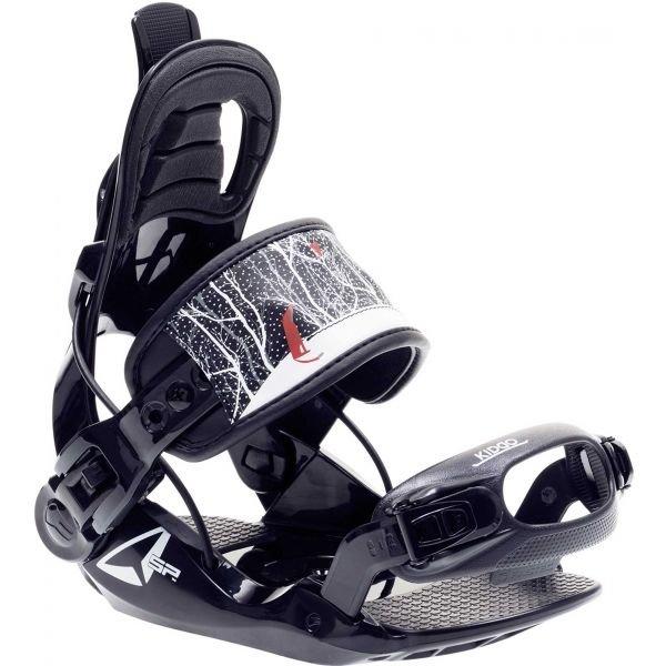 Černé vázání na snowboard SP Connect - velikost XS