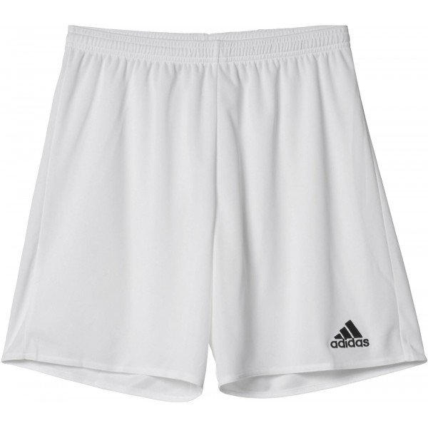 Bílé pánské fotbalové kraťasy Adidas