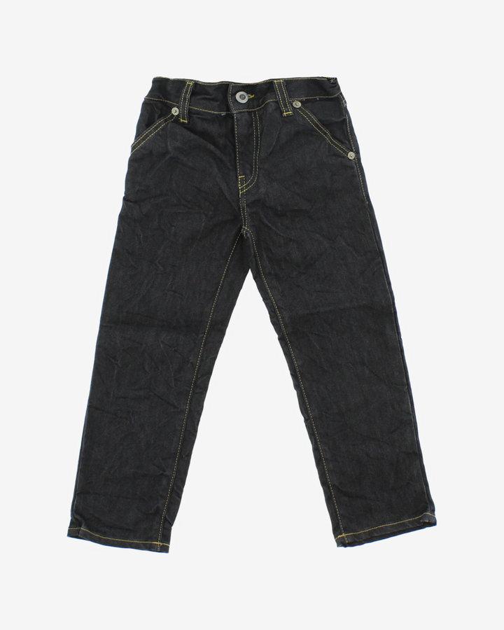 Černé chlapecké džíny John Richmond - velikost 128