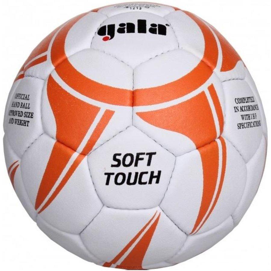 Bílo-oranžový míč na házenou Soft BH 1043S, Gala - velikost 1
