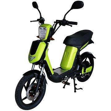 Zelená elektrická motorka E-Babeta, Racceway