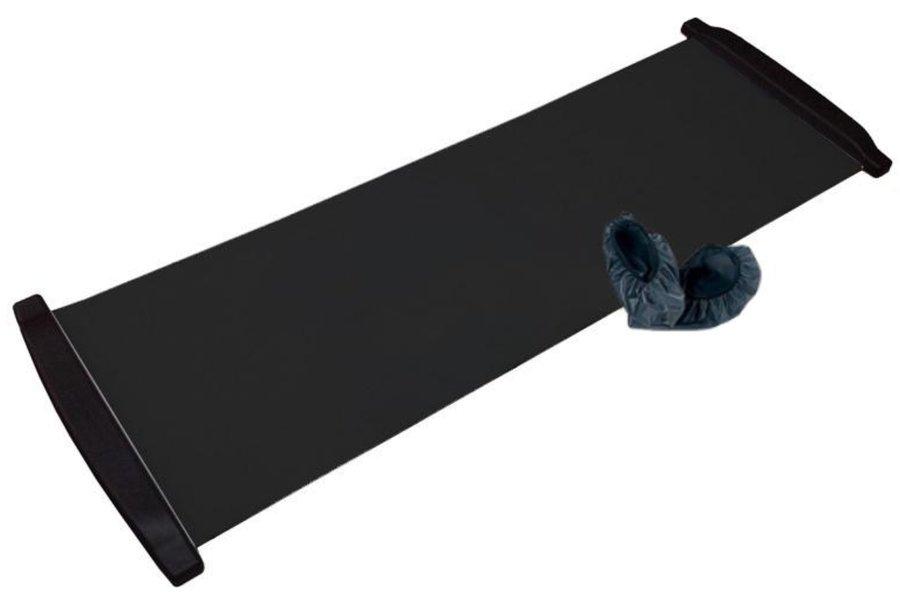 Trenažér bruslení - Posilovací podložka Slide Board 180x50 cm