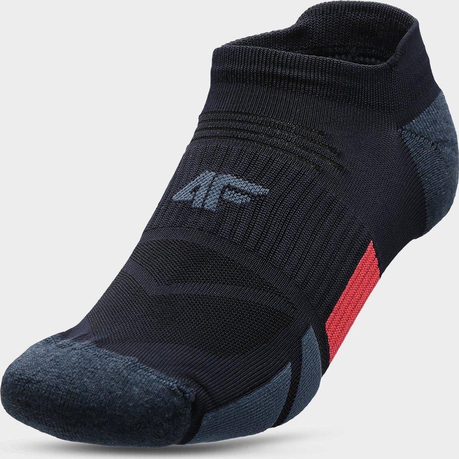 Modré pánské ponožky 4F - velikost 39-42 EU