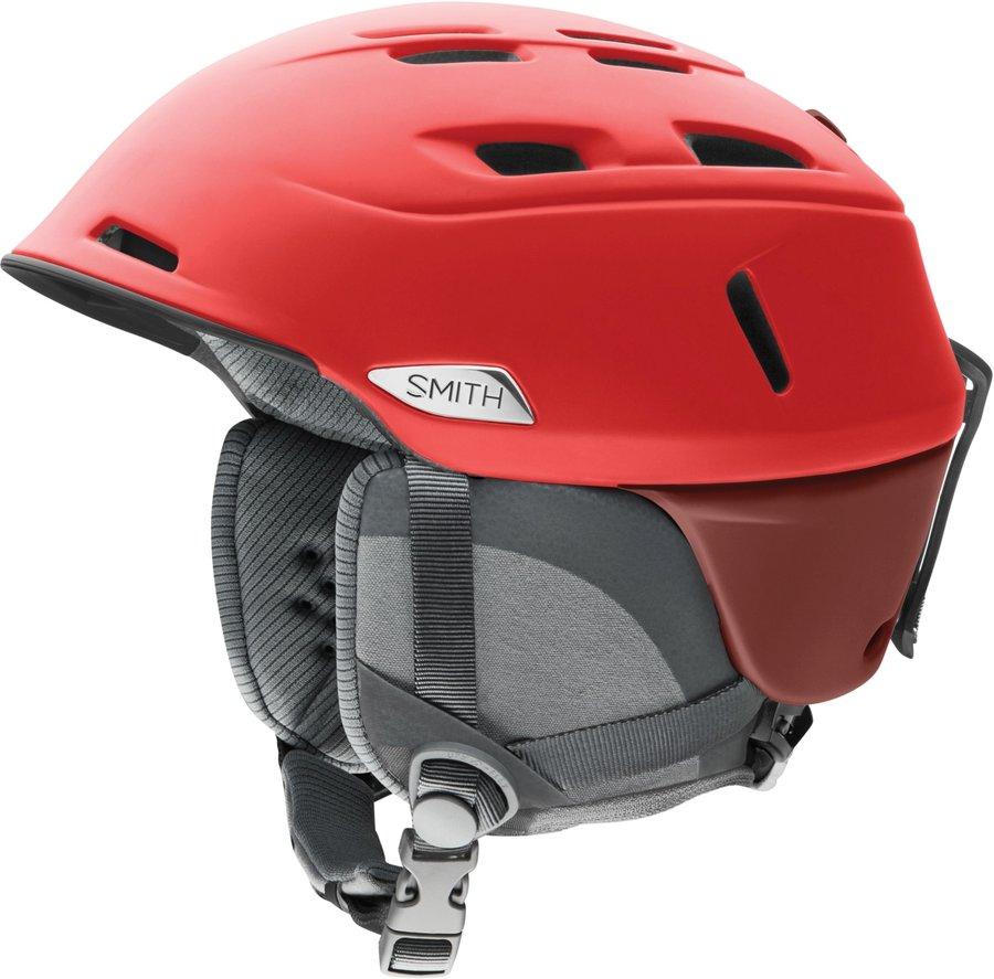 Červená pánská helma na snowboard Smith - velikost 59-63 cm