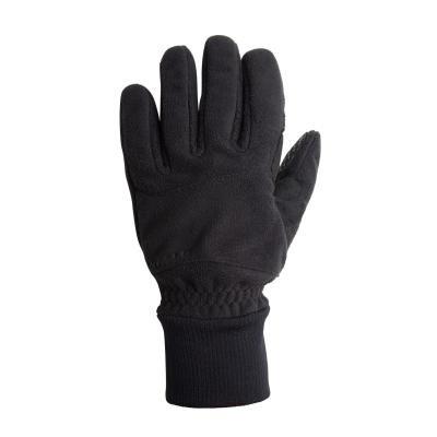 Černé zimní cyklistické rukavice B'TWIN