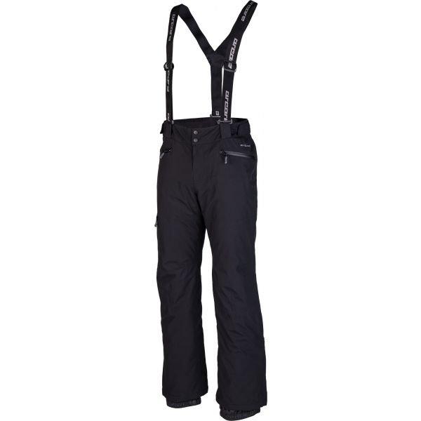 Černé pánské lyžařské kalhoty Arcore