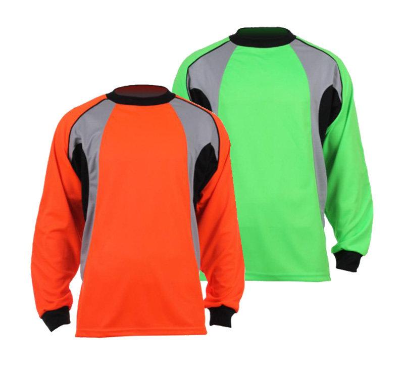 Zelený nebo oranžový brankářský fotbalový dres GO-3, Merco