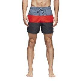 Černé pánské koupací kraťasy Adidas - velikost S