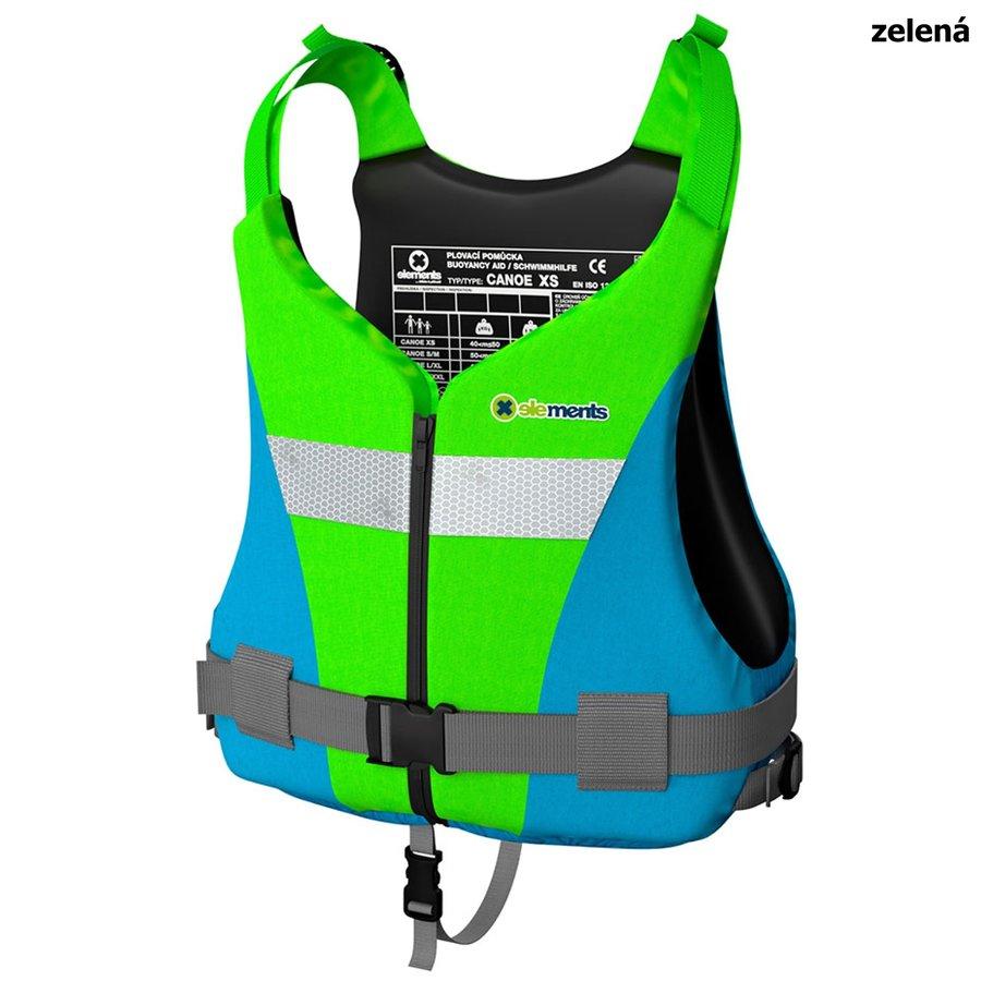Zelená plovací vesta Canoe Plus, Elements Gear - velikost 3XL