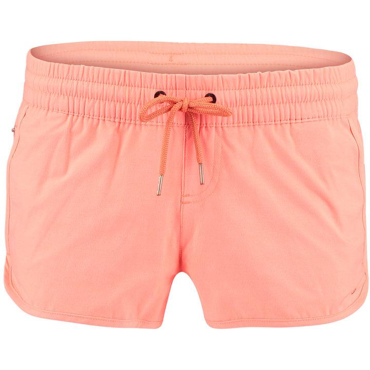 Oranžové dámské koupací kraťasy Pw Essential Boardshorts, O'Neill - velikost S