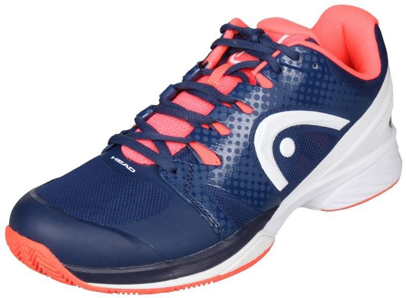 Modro-růžová pánská tenisová obuv Nzzzo Pro Clay, Head