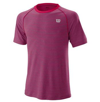 Fialové pánské tričko s krátkým rukávem Wilson