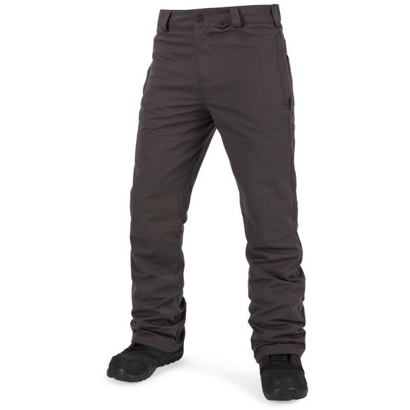 Šedé pánské snowboardové kalhoty Volcom