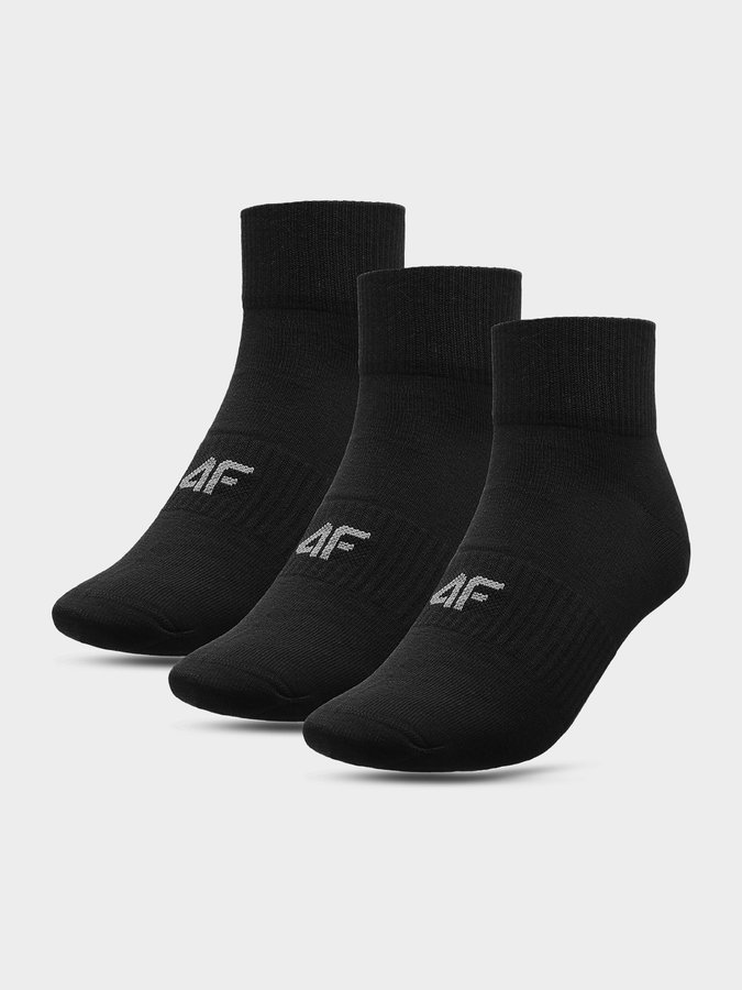 Černé pánské ponožky 4F