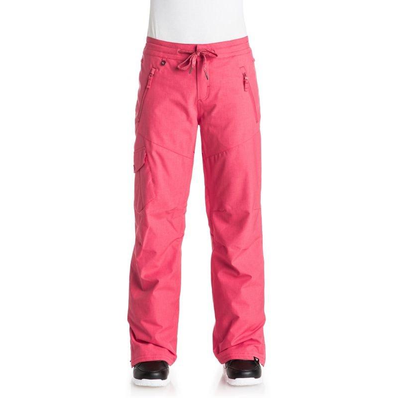 Růžové dámské snowboardové kalhoty Roxy - velikost XS