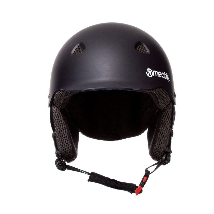 Černá helma na snowboard Meatfly - velikost XL