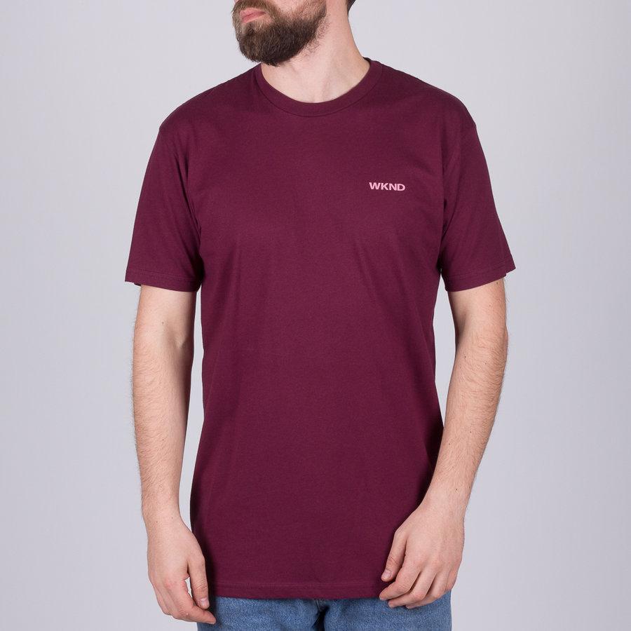 Fialové pánské tričko s krátkým rukávem Nike - velikost S