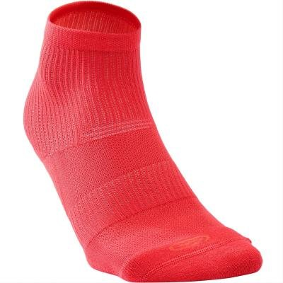 Růžové běžecké ponožky CONFORT, Kalenji