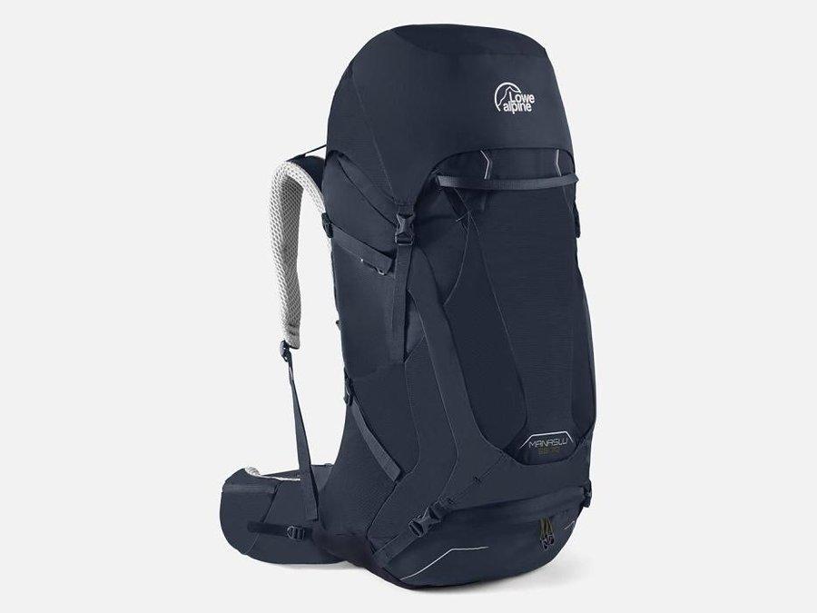 Modrý turistický batoh Lowe Alpine - objem 70 l