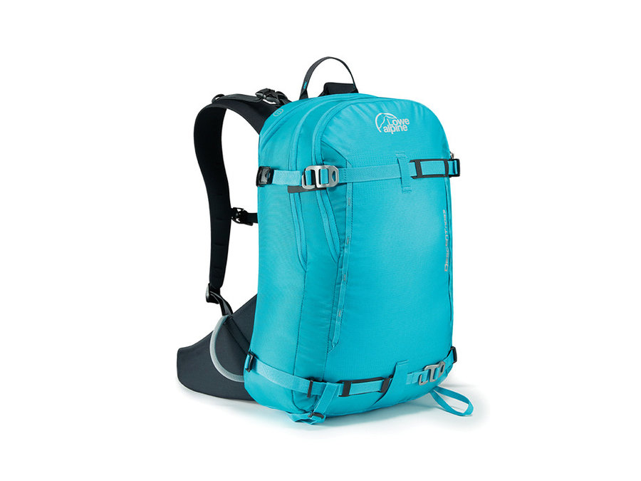 Modrý lavinový skialpový batoh Lowe Alpine - objem 23 l