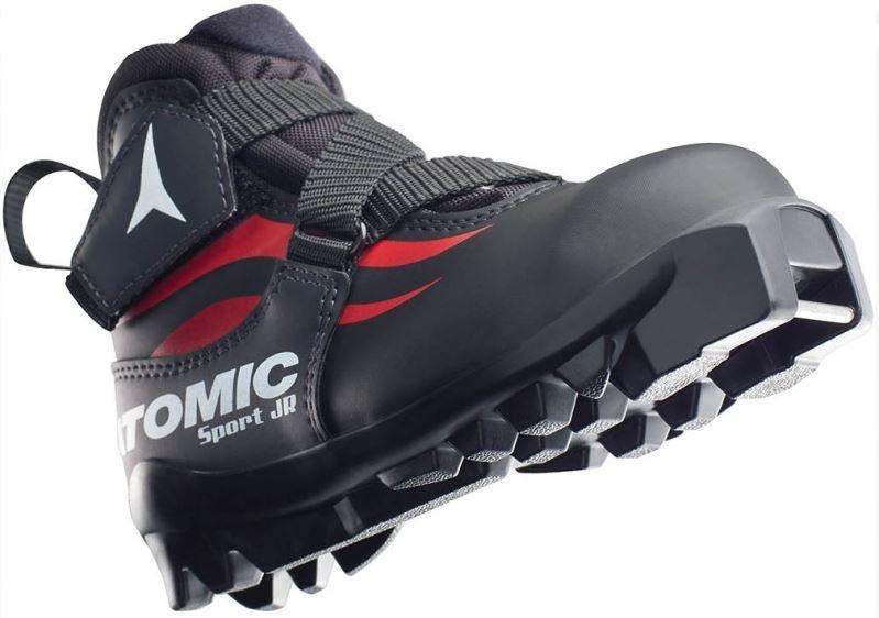 Černé dětské boty na běžky Atomic - velikost 28 EU