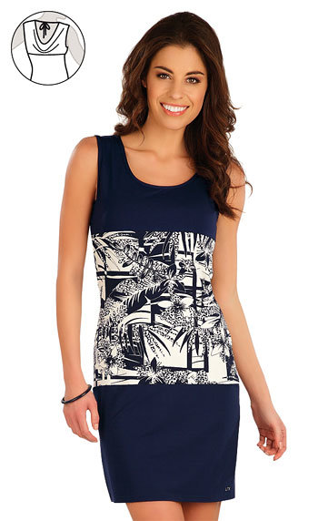 Modré dámské šaty Litex