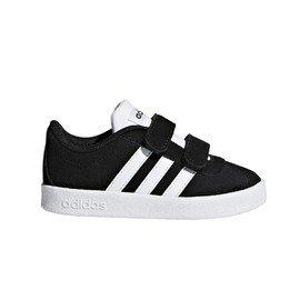 Černé dětské chlapecké nebo dívčí tenisky Adidas