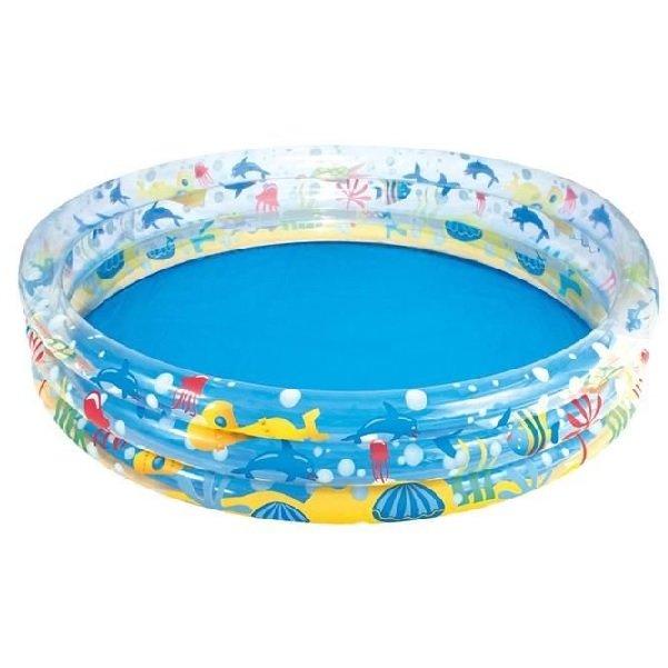 Nafukovací nadzemní kruhový bazén Bestway - objem 282 l, průměr 152 cm a výška 30 cm