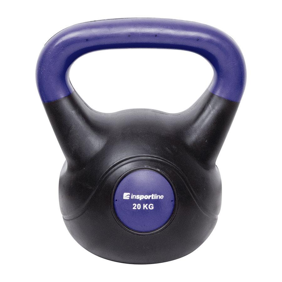 Kettlebell inSPORTline - 20 kg