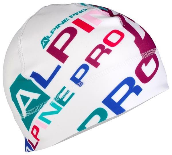 Bílá běžecká čepice Alpine Pro - velikost S