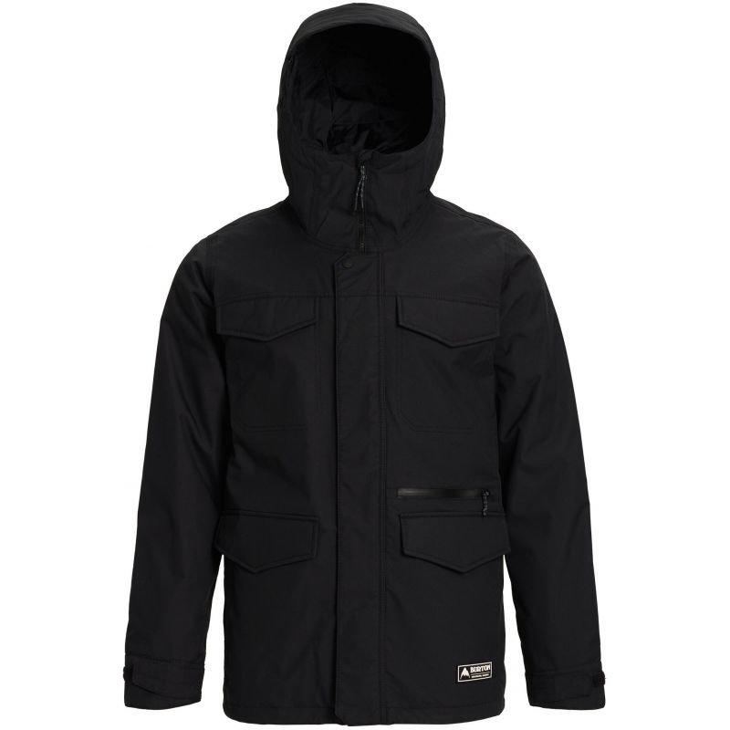 Černá pánská snowboardová bunda Burton - velikost M