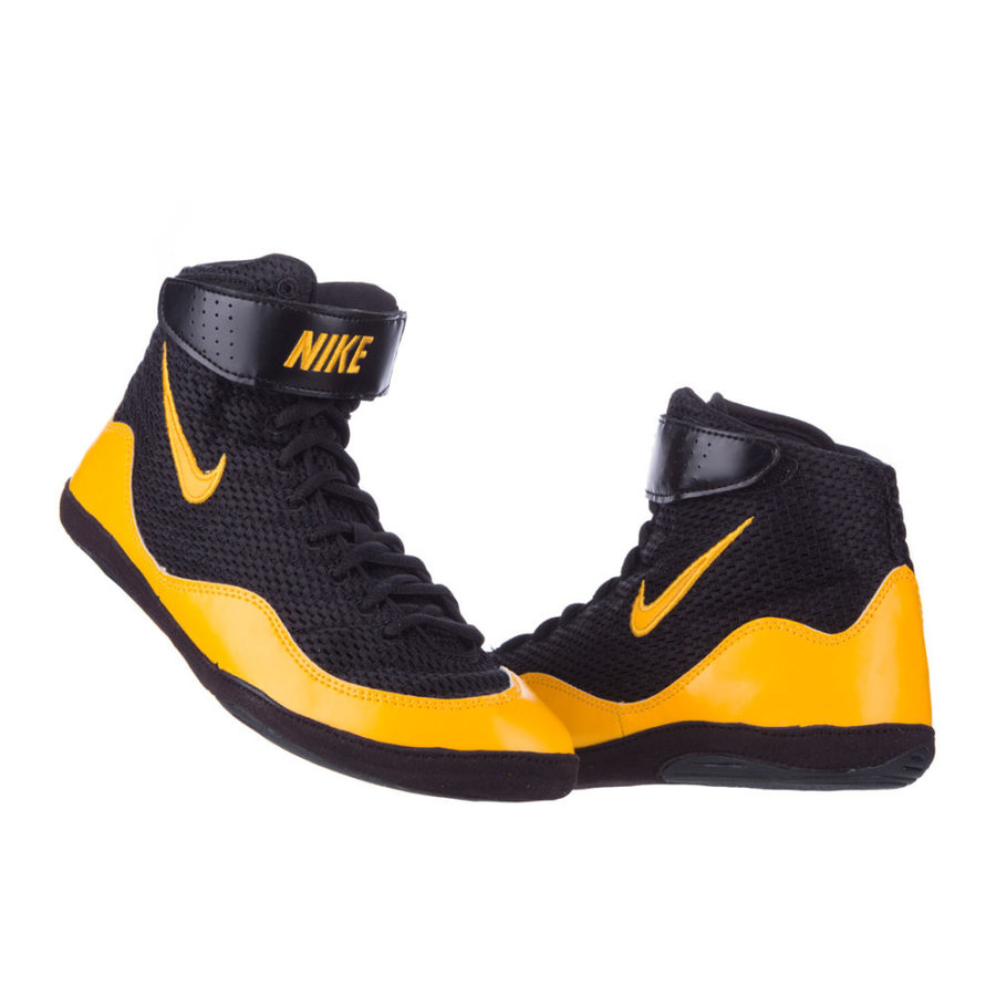 Černé boxerské boty Inflict Wrestling, Nike