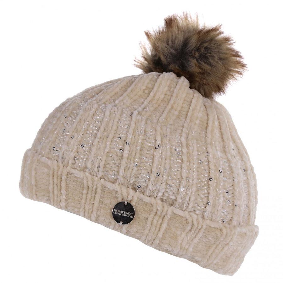 Béžová dámská zimní čepice Regatta