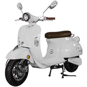 Bílá elektrická motorka Century, Racceway