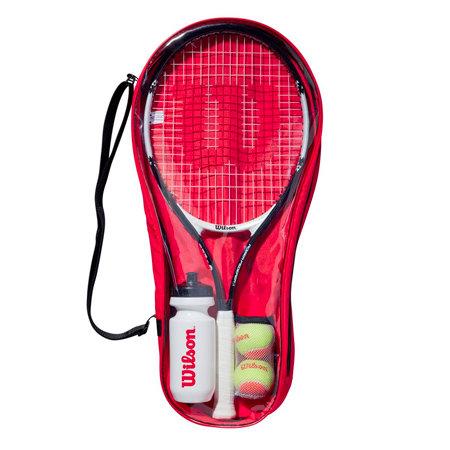 Tenisová sada - Dětský set na tenis Wilson Roger Federer Starter Set 25