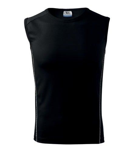 Černé pánské tričko bez rukávů Adler - velikost L