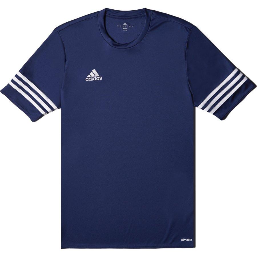 Modrý dětský fotbalový dres Entrada 14, Adidas - velikost 128