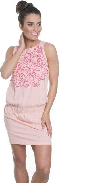 Růžové dámské šaty Sam 73