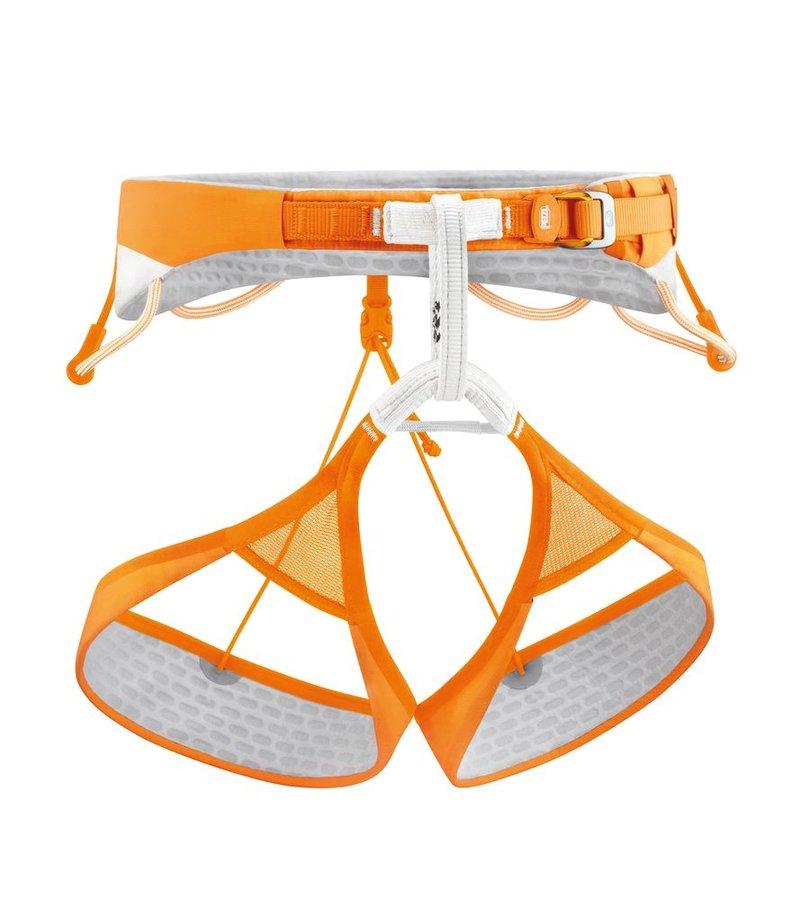 Oranžový horolezecký úvazek Sitta, Petzl
